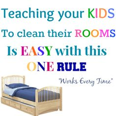 Teaching a child to keep their room clean kid responsibility, babi alford, kid idea, famili, kids clean room, kid room cleaning, responsibility for kids, parent idea, remind