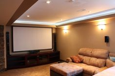 Cool Basement Ideas | Cool Basement Renovation Ideas: Smart Renovating Basement Into Home ...