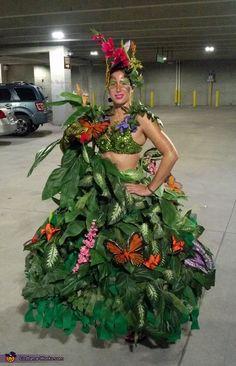 Rainforest - homemade Halloween costume