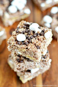 dessert recipes, rice krispies treats