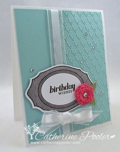 Partial Embossing with the Big Shot 2