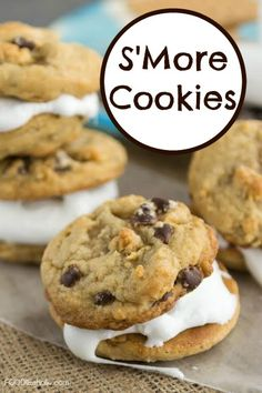 S'More Cookies | FOO