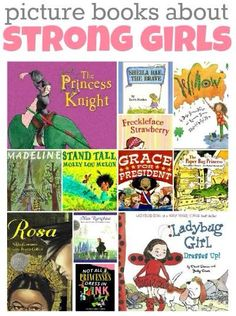 What a fantastic selection of children's books with strong female characters. Great reads at bedtime or at Circle Time! Personal favourite would have to be Madeline.