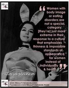 Gloria Steinem on Eating Disorders