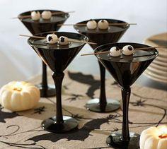 Black Halloween Martini