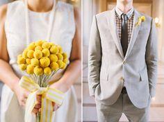 Bride and Groom Style - Grey and yellow wedding Photographer - Kirsten Julia Wedding Photography www.kirstenjulia.com