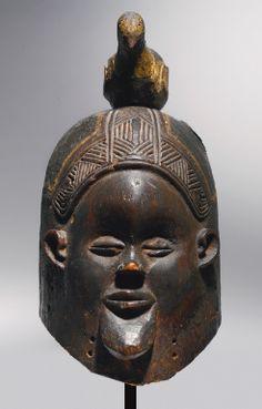 Suku Mask, Democratic Republic of the Congo