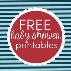 LOTS of free printable for a Nautical Baby Shower theme: food labels, party circles, and a fun game! sisterssuitcaseblog.com #babyshower #printables