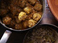 Tunisian Meatballs From 'One Good Dish' dish, tunisian meatbal, olive oils, beef, food, coconut milk, recip, ground turkey, serious eats