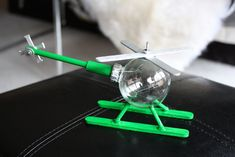 DIY Helicopter Christmas Ornament