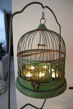 ❥ Antique Birdcage