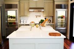 kitchens, glass doors, interior, urban grace, cabinet colors, sink, painted cabinets, kitchen designs, island