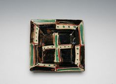 Hamada Shoji : A square dish
