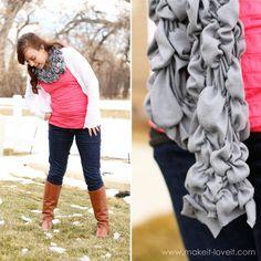 t shirt scarf