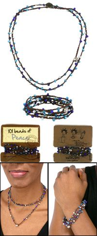 101 Beads of Peace Jewelry at The Rainforest Site