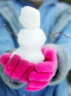 .Season - Winter - Snow man