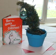 How the Grinch Stole Christmas centerpiece