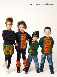 Cute African Fashion for kids --- Elsa and Lucy