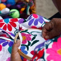 Mayan weavers