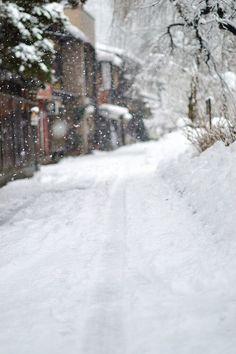 #blanket of snow...