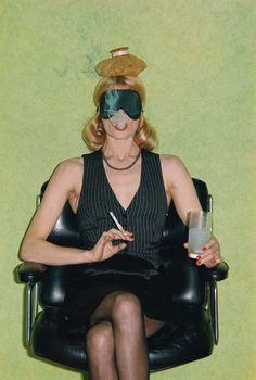 Hangover. Helmut Newton. Nova, Paris, 1973