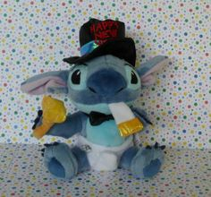 #Disney Store New Years #Stitch Stuffed Animal #CollectibleDisney #StitchStuffedAnimal #NewYears #GiftsForBigKids #teamsellit
