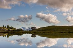 """""""The Reflection"""" by Hans Kruse, via 500px.  Dolomites, Italy"""
