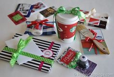 Awesome ideas for wrapping gift cards and making them seem more substantial