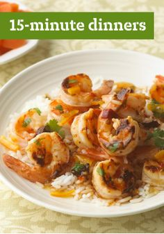 15-Minute Dinners – Get dinner on the table in 15 minutes or less with these easy and delicious recipes.
