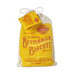 buttermilk biscuit, southern biscuit, william sonoma, biscuit mix, organ southern, packag design, southern buttermilk, biscuits, biscuit packag