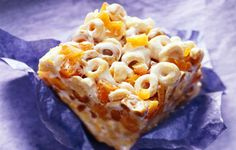 Fruity Cereal Bars - Cheerios recipes curated by SavingStar Grocery Coupons. Save money on your groceries at SavingStar.com