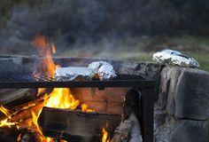 foil packet, food outdoor, camp food, campfir cook