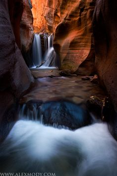 Chamber of Light, Kanarra Creek Canyon, Utah, by Alex Mody