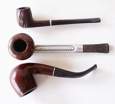 "vintage kaywoodie pipes | Details about 3 Vintage Estate Pipes: KAYWOODIE ""500"", FALCON, YELLO ..."