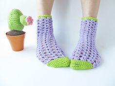Crochet Socks.
