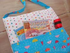 Crafts a la mode : Pocket Pillow Tote for Books