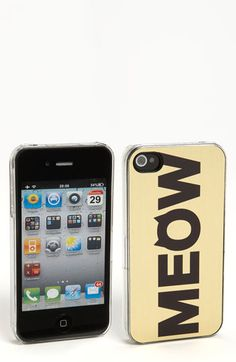 ZERO GRAVITY 'Cat Call' iPhone 4 & 4S Case available at Nordstrom