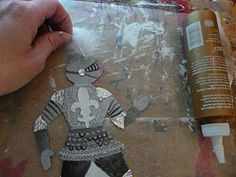 St. George and the Dragon Crafts - includes free printable Knight paperdoll template Dragon Craft, Templates, Knights, Paper Dolls, Knight Paper, Craft Idea, Knight Templat, Calvari Craft, Paperdol Templat