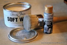 Annie Sloan Chalk Paint Faux Zinc Tutorial