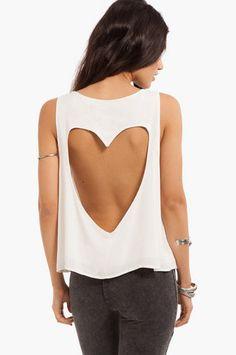 Back That Heart Up Tank at www.tobi.com