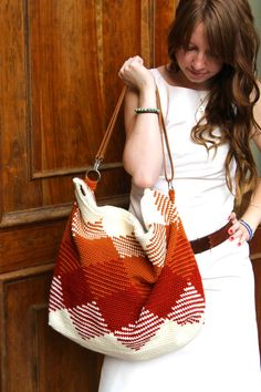 CROCHET PATTERN for The weekender bag