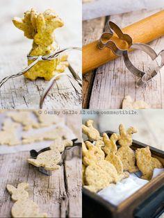 Biscotti salati con le nocciole