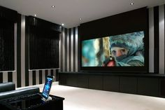 This home cinema in Sutton Coldfield uses the #Control4 iPad app (The Big Picture)