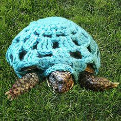 Crocheted Tortoise Cape