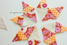 texas star block tutorial from Blue Elephant Stitches