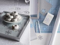 How-to: Customize a picture frame with your favorite gift wrap and use it as a serving tray.