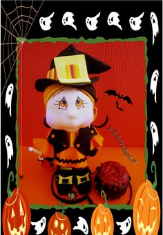 Fofucha bruja halloween