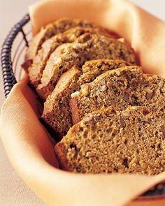 Banana Bread with Walnuts and Flaxseed