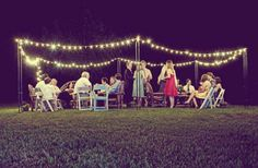 outdoor lights -- YES, PLEASE.