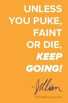 I Love Jillian Michaels! Stay Strong & Keep Going! No Excuses! Follow our boards for the coolest #FitnessClothing #Excercises & #FitnessMotivation!